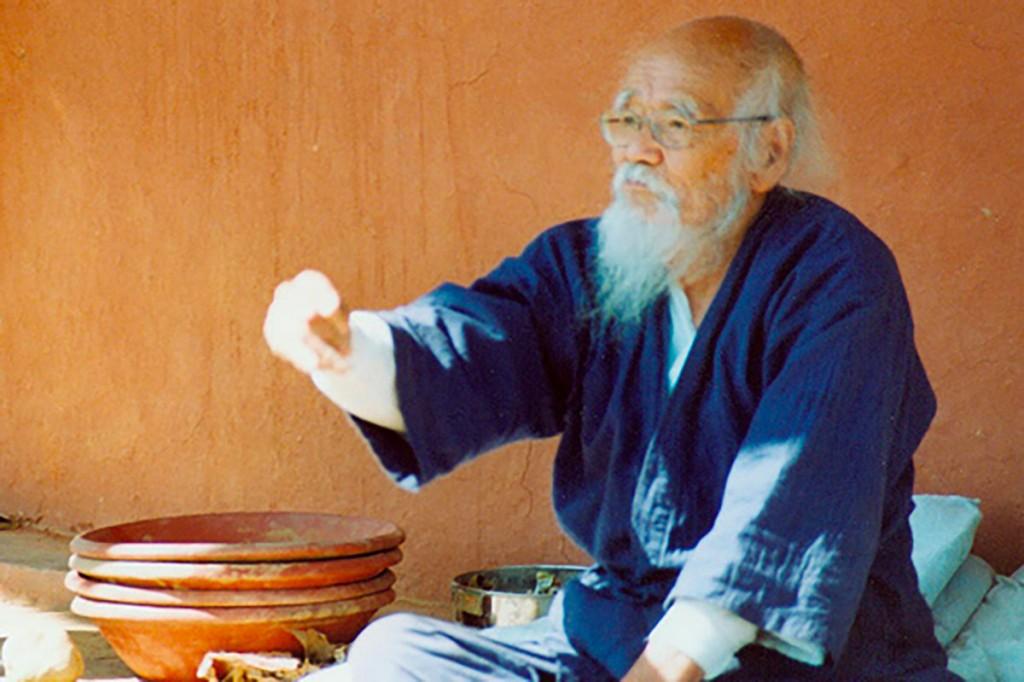 Masanobu Fukuoka è considerato il fondatore dell'agricoltura sinergica