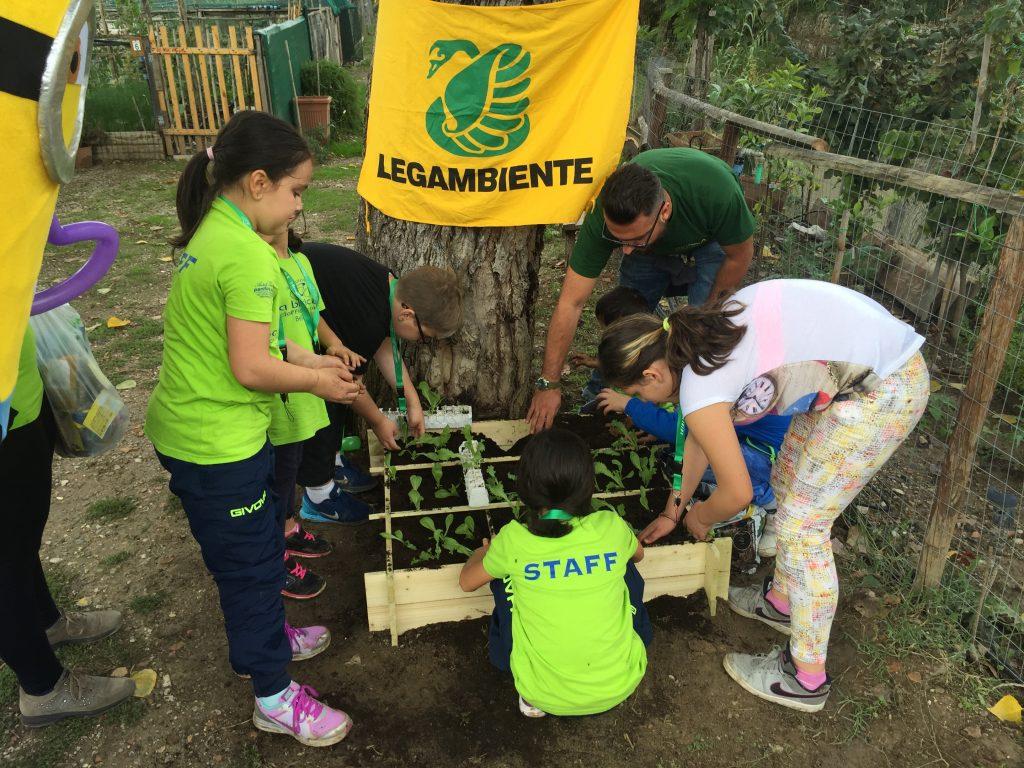 orto e bambini, manifestazione
