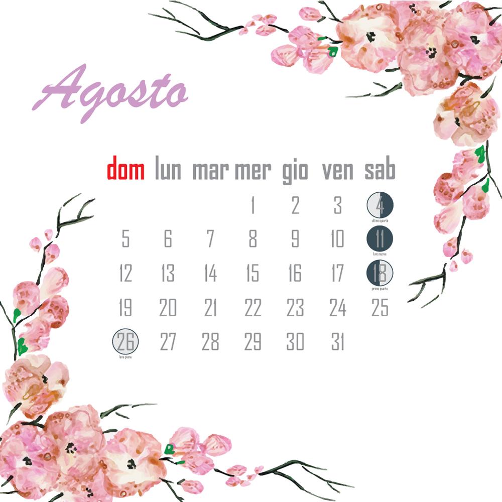 Calendario Lunare Potatura.Calendario Lunare La Guida Completa Alle Fasi Lunari 2018